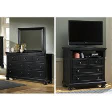 Vaughan Bassett Reflections Dresser by Mirror Media Chest U2013 Designlee Me