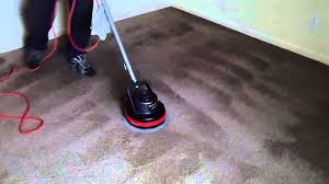 Used Oreck Floor Scrubber by Oreck Orbiter Cleans Carpets In Under 6 Minutes Youtube