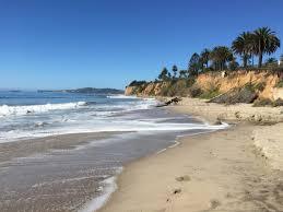 100 Santa Barbara Butterfly Beach Surfs Up