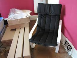 Poang Chair Cushion Blue by Ikea Poang Chair Discontinued White Birch Poang Frame Matc U2026 Flickr