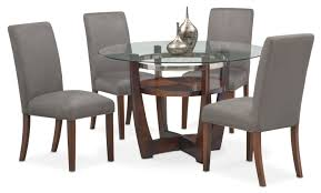 Alcove Dining Table And 4 Dining Chairs | Glass Dining Table ... Casual Kitchen Table And Chairs Martinique Set Of 2 Ding Chairs Chair 57 Tremendous Affordable Amazoncom Xuerui Fniture Chair Coffee 6pcs Bnew Ding Wood On Carousell Grey Leather 800178 Swivel Black 4 Gallery Round Room Value City Kallekoponnet For 11 Home And Design Singular Sets Morgan City 530t Ding Chair 3d Model 17 Tables Glass Png 1024x1269px