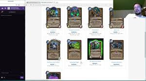 Top Decks Hearthstone Frozen Throne by Full Card Review Knights Of The Frozen Throne Part 1 Of 3 Youtube