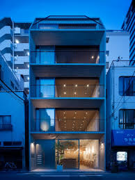 Grass Building Is A Minimalist House Located In Tokyo Japan Designed By Ryo Matsui