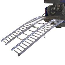 100 Heavy Duty Truck Ramps Revarc Aluminum Arched TriFold ATV Ramp 76 Long