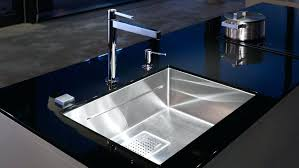 stainless steel kitchen sink and faucet combo with drainboard