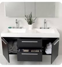 Double Sink Vanity Top 60 by Bathroom Modern Black Floating Double Sink Bathroom Vanity With