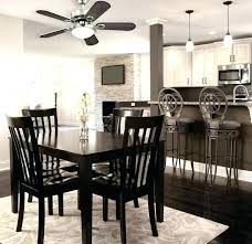 Dining Room Ceiling Fans Fan French Chairs Contemporary With Apartment
