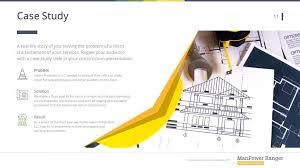 Floor Plan Template Powerpoint by Construction Premium Powerpoint Template U2013 Slidestore