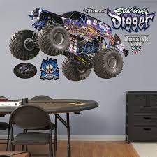 Son-uva Digger | Monster Trucks Monster Truck Vinyl Wall Decal Car Son Room Decor Garage Art Grave Digger Fathead Jr Shop For Sticker Launch Os_mb592 Products Tagged Cstruction Decal Stephen Edward Graphics Blue Thunder Trucks And Decals Stickers Jam El Toro Giant Elegant Familytreeshistorycom Blaze The Machines Scene Setters Decorating Kit Decals Home Fniture Diy Mohawk Warrior Warrior Monster Trucks Jam Wall Stickers Transportation 15 Fire