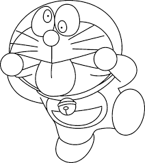 Doraemon Coloring Pictures For Kids Free
