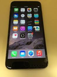 Apple Iphone 6 Plus 128gb Space Gray u s Cellular Cracked