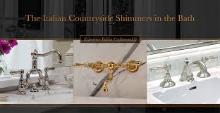 Wall Mounted Kitchen Faucets India by Rohl Home Bringing Authentic Luxury To The Kitchen And Bath