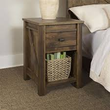 Drawers Narrow End Table With Drawers Storage Garden Bench Black