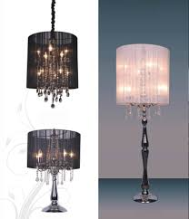 Drexel Heritage Lamps Crystal by Hanging Crystal Table Lamp