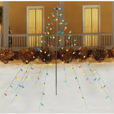Ebay Christmas Trees With Lights by Home Accents Holiday Christmas Tree Drape Lights 7 U0027 Multicolor C9