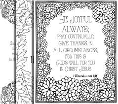 3 Bible Verse Coloring Pages Thanksgiving Set Inspirational Quotes DIY Adult Printable Sheets JPG Instant Download Floral