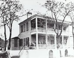 Tucker House during the Civil War now the historic Rhett House