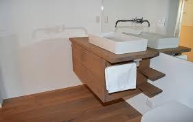 schreinerei schweizer badezimmermöbel mit furnier front