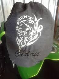 housse de casque moto couture