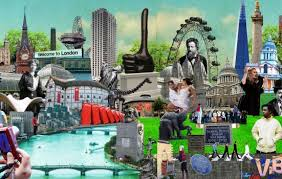 Collage Of London Tourist Attractions