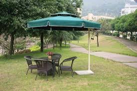 Aluminum Outdoor Furniture Umbrella Patio Side Unilateral Double Top Large Square Garden Umbrellas
