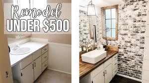 Redo Bathroom Ideas Bathroom Remodel 500