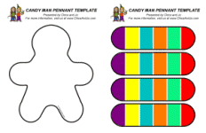 Candyland Party Pennants