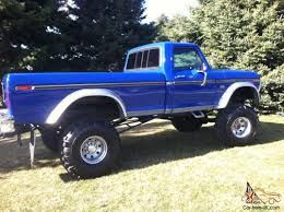 Ford Trucks | 1976 Ford Long Bed Monster Truck Lifted 1977 1978 1979 ...