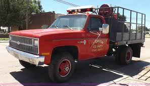 1982 Chevrolet Custom Deluxe 30 Fire Truck   Item J6938   SO... 1982 Chevrolet Trucks Chassis Cab Sales Brochure Awesome Great C10 82 Chevy Pro Street Truck 2017 Cc Outtake 1981 Or Luv Diesel A Survivor Short Bed Hot Rod Shop 57l 350 V8 700r4 K10 Xd Xd809 Comp Suspension Lift 6in For Sale Classiccarscom Cc1116856 Silverado Standard Pickup 2 Door 5 7l Nick Delettos Stepside Network 3900 C20 Scottsdale Barn Finds Pinterest C30 Custom Deluxe Dump Bed Truck Item 7238 Chevrolet C60 Sa Grain Truck