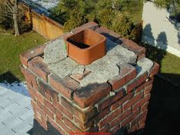 chimney top and clay tile flue liner repair guide