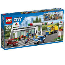 Jual LEGO City - 60132 Service Station Set Building Toy Gas Mechanic ... Lego Technic 2in1 Mack Truck Hicsumption Moc Tanker Itructions Youtube Lego City 3180 Tank Speed Build Main Transport Remake Legocom Fire Station 60110 Ugniagesi 60016 The Next Modular Building Revealed Brickset Set Guide And Road Repair Juniors Toys Stop Motion Rescue Brick Expands Its Brickbuilt Lineup With New 2500piece Duplo My First Cars Trucks 10816 Ireland
