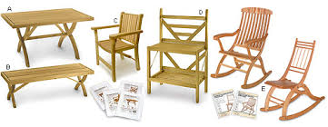 folding furniture plans by lee valley lee valley tools
