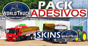 100 World Truck Simulator Driving Pack De Adesivos Skins
