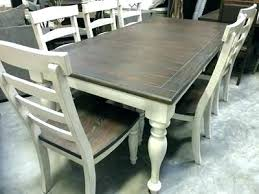 Distressed Dining Room Table Set Sets Best