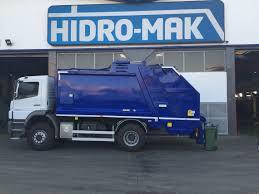 Split Body Rear Loader Truck   Multi Chamber Garbage Compactor Truck