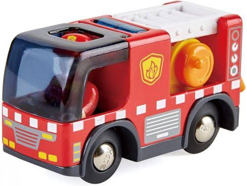 Hape Fire Truck With Siren Toyset