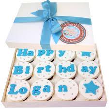 Boys Happy Birthday Cupcakes