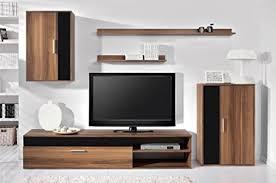 black white wohnzimmer möbel set in schwarz glanz