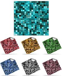 Smart Tiles Mosaik Multi by 30 Self Adhesive Mosaic Wall Tile Decal Transfers For 6 X 6 Inch