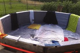 How Make Your Own Swimming Pool Out Of Wooden Pallets