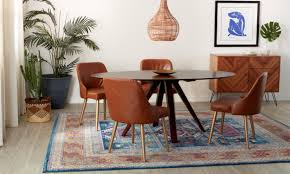 Top 5 Dining Room Rug Ideas For Your Style | Overstock.com Exciting Eclectic Ding Rooms Boho Style That Can Fit In Top 5 Room Rug Ideas For Your Overstockcom Now You Have The Bohemian Of Dreams Get Look Authentic Midcentury Modern Design By Havenly Amazoncom Yazi Red Mediterrean Tie On 20 Awesome And Decor Photo Bungalow Rose Legends Fniture 6pc Rectangular Faux Cement Set In Chestnut