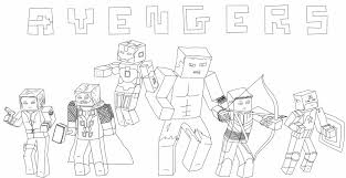 Coloring Download Minecraft Skin Pages For