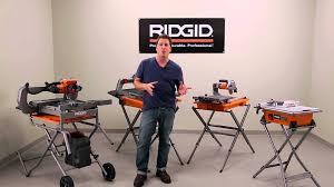 ridgid tile saw tips tricks with david sheinkopf
