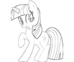 Coloring Pages Of Twilight Sparkle Pony Color Inspirational My Little