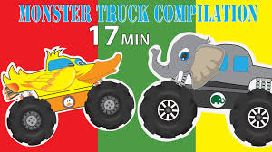 100 Trucks Cartoon Monster Car Youtube Monster S