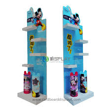 Full Printing Acrylic Display Stands Shelves