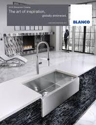 Blanco Meridian Semi Pro Kitchen Faucet by 2016 Blanco Showroom Catalog By Blanco Issuu