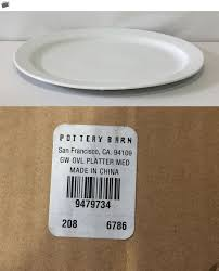Platters 45503: Pottery Barn Great White Oval Platter, Medium, New ... Dinnerware Gibson White Best Square Junk Gypsy Pottery Barn Kids Great Reviews Everyday Soup Tureen Ebay Quotation Serving Bowl Porcelain Virginia Desk Shing Wooden Desk Chair Inviting And Gold Teen Bedroom Fniture Cool Gallery Ideas 3421 Cheap Sets Cereal Condiment Olive Oil Dipping Dish Set Of 7 Pottery Barn Turner Sofa 17 Images 15 Designs For Rustic
