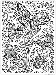 Free Online Printable Coloring Pages For Adults Large Print Modest Only
