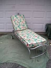 Ebay Chaise by Vintage Pair Mid Century Eames Era Modern Iron Chaise Lounge Patio
